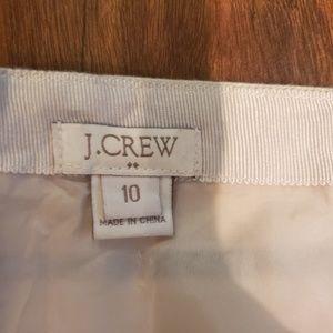 J. Crew Skirts - J. Crew striped mini skirt